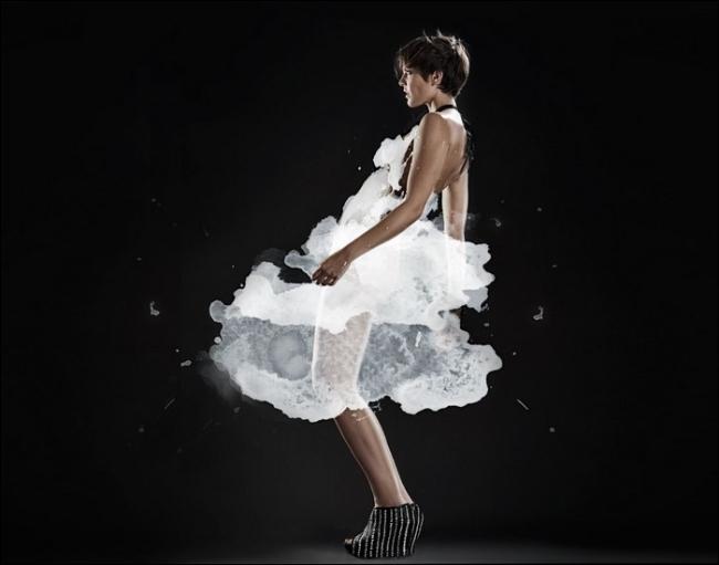 """Thiếu nữ trong bộ váy """"hư ảo"""" (12)"""