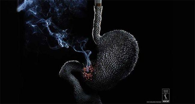 Những poster phòng chống thuốc lá ấn tượng - http://nhungdieuthuvi.com/ (26)