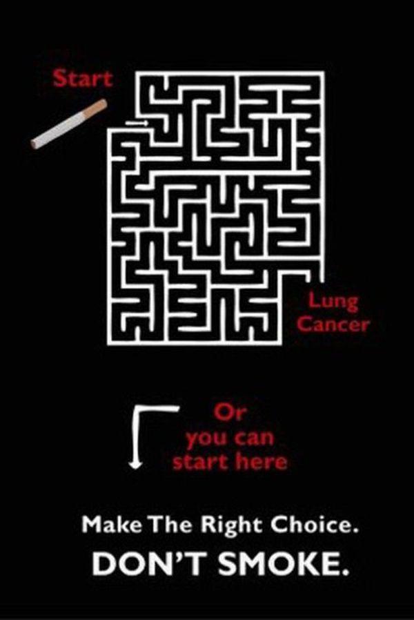 Những poster phòng chống thuốc lá ấn tượng - http://nhungdieuthuvi.com/ (9)