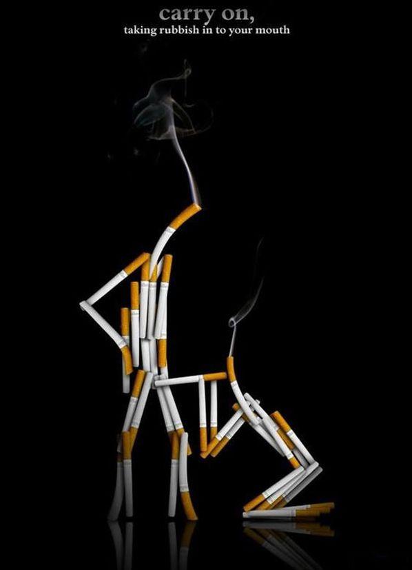 Những poster phòng chống thuốc lá ấn tượng - http://nhungdieuthuvi.com/ (5)