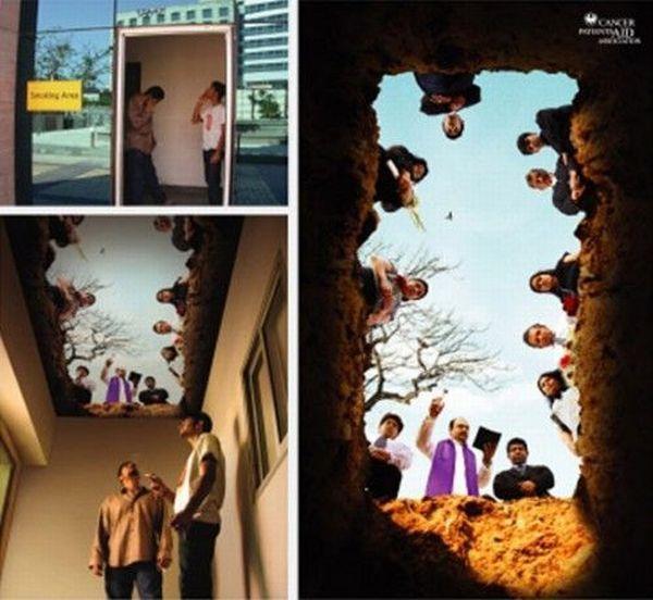 Những poster phòng chống thuốc lá ấn tượng - http://nhungdieuthuvi.com/ (2)