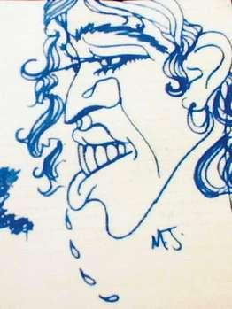 Bức chân dung tự hoạ của Michael Jackson