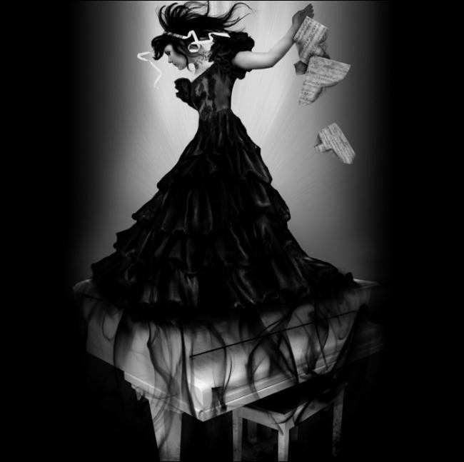 """Thiếu nữ trong bộ váy """"hư ảo"""" (11)"""
