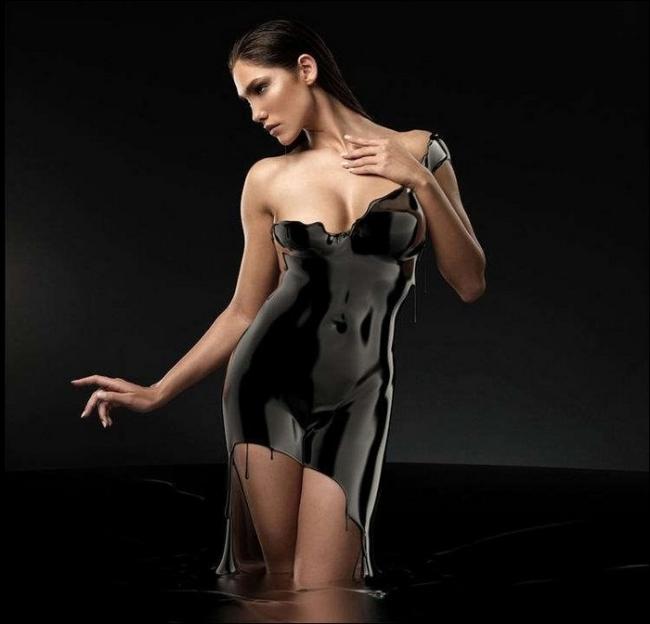 """Thiếu nữ trong bộ váy """"hư ảo"""" (5)"""