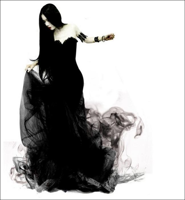"""Thiếu nữ trong bộ váy """"hư ảo"""" (4)"""