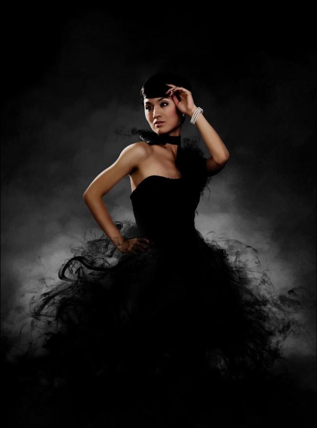 """Thiếu nữ trong bộ váy """"hư ảo"""" (7)"""