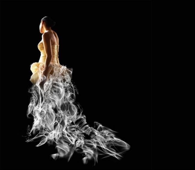 """Thiếu nữ trong bộ váy """"hư ảo"""" (6)"""