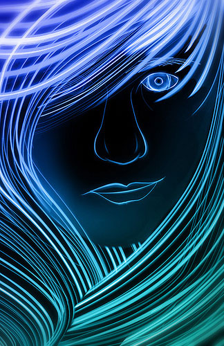 """Ngoạn mục """"vẽ tranh bằng ánh sáng"""" (4)"""