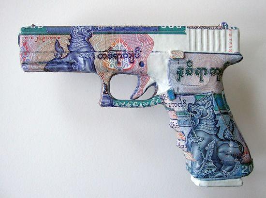 Những tác phẩm tuyệt đẹp từ ... Tiền