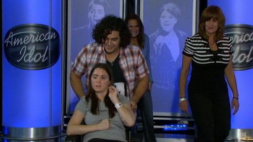 Chris Medina và Juliana Ramos tại cuộc thi American Idol - Ảnh: ABCnews