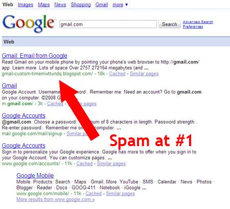 GoogleHijack2 - Kết quả tìm kiếm bị chuyển hướng trên Google