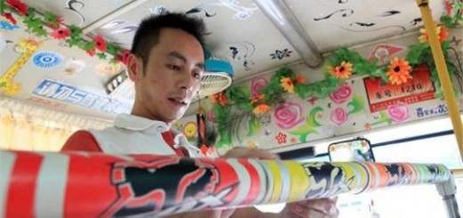 Lý Quân - Tài xế xe buýt xì tin ở Trung Quốc