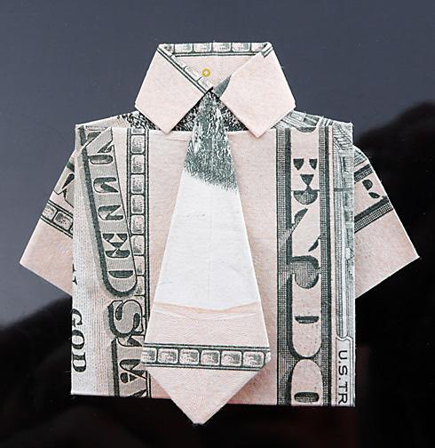 Origami - Những cách gấp tiền sáng tạo (18)