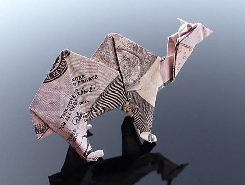 Origami - Những cách gấp tiền sáng tạo (15)