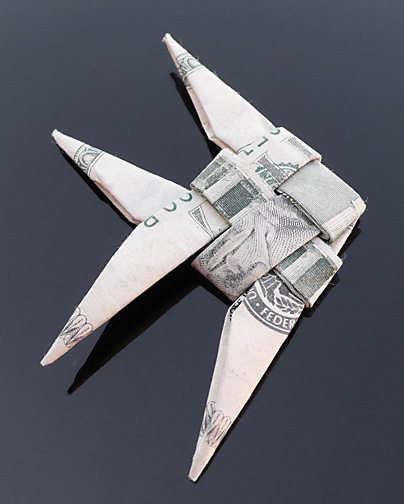 Origami - Những cách gấp tiền sáng tạo (14)