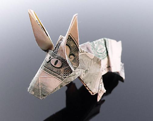 Origami - Những cách gấp tiền sáng tạo (13)