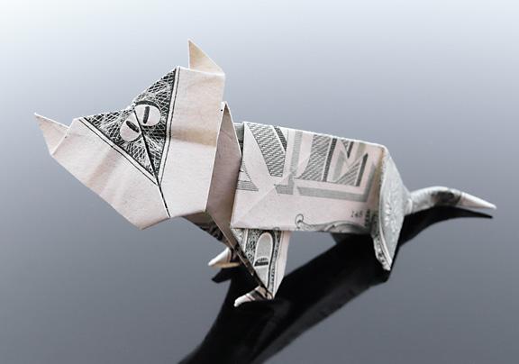 Origami - Những cách gấp tiền sáng tạo (12)