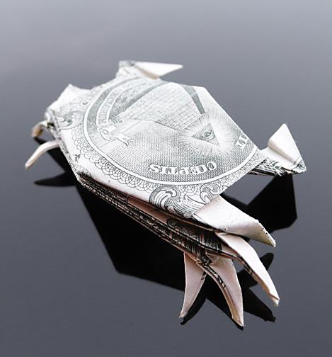 Origami - Những cách gấp tiền sáng tạo (11)