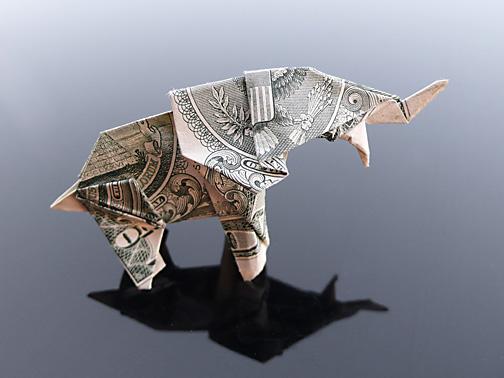 Origami - Những cách gấp tiền sáng tạo (9)
