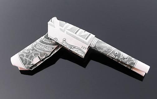 Origami - Những cách gấp tiền sáng tạo (6)