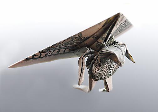 Origami - Những cách gấp tiền sáng tạo (5)