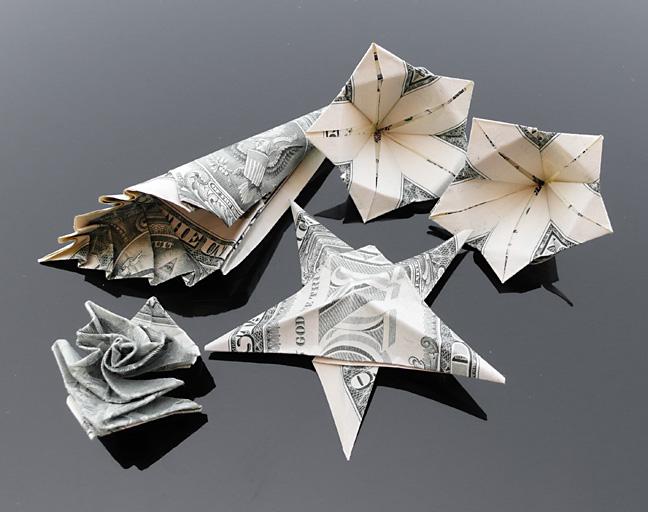 Origami - Những cách gấp tiền sáng tạo (4)