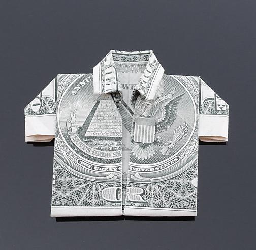 Origami - Những cách gấp tiền sáng tạo (3)