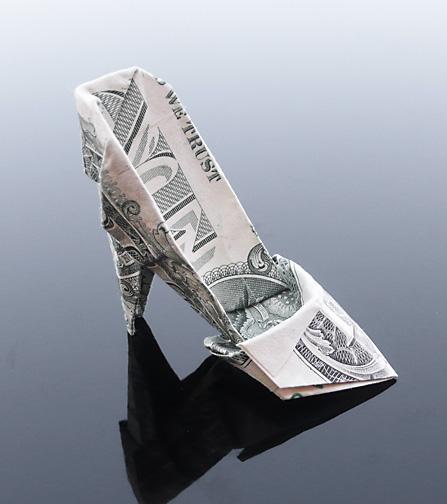 Origami - Những cách gấp tiền sáng tạo (2)