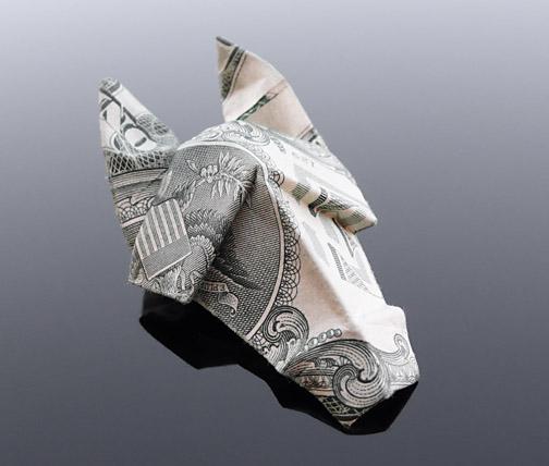 Origami - Những cách gấp tiền sáng tạo (1)