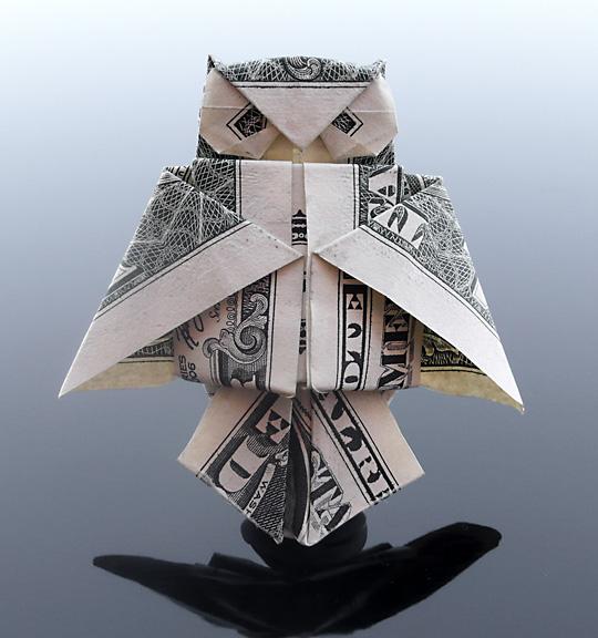 Origami - Những cách gấp tiền sáng tạo (25)