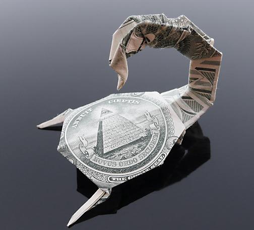 Origami - Những cách gấp tiền sáng tạo (24)