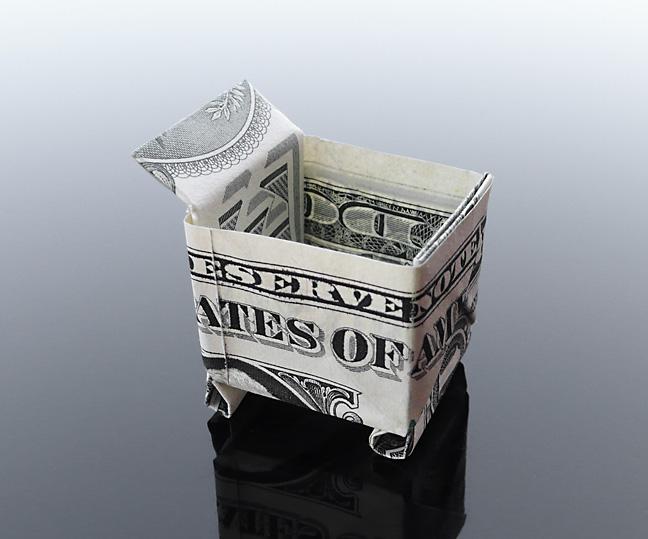 Origami - Những cách gấp tiền sáng tạo (23)