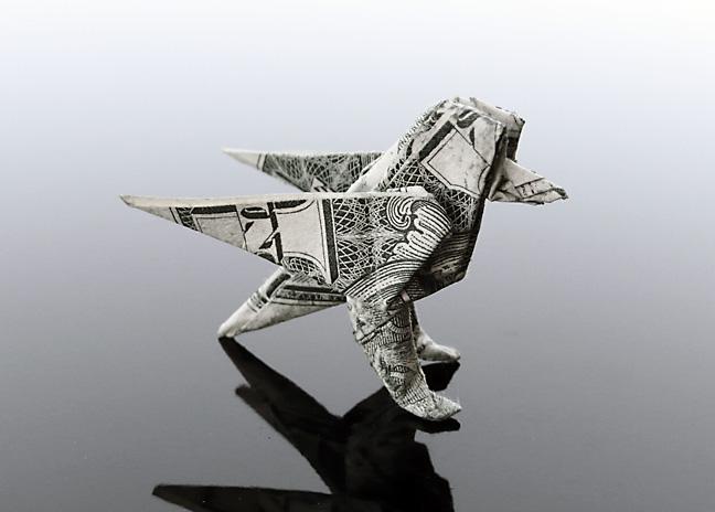 Origami - Những cách gấp tiền sáng tạo (21)