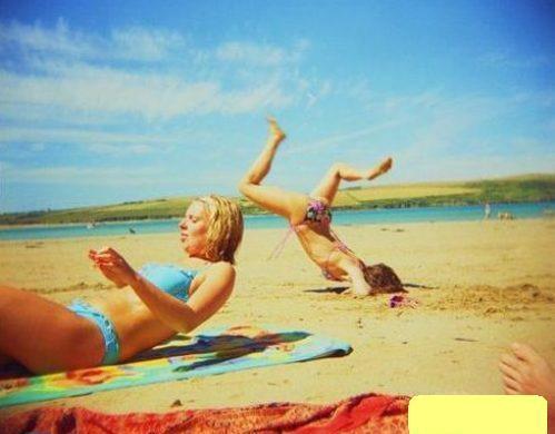 Những bức ảnh hài hước trên bãi biển