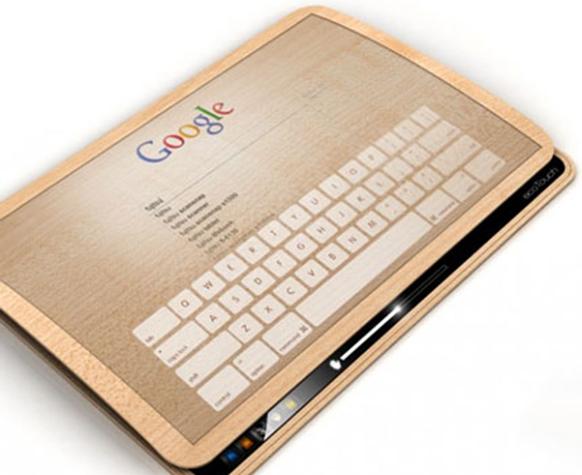Máy tính bảng Ecopad sạc pin bằng cảm ứng chạm