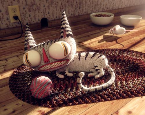 Những bức hình 3D chân thật, sáng tạo đến bất ngờ | nhung buc hinh 3D chan that sang tao den bat ngo