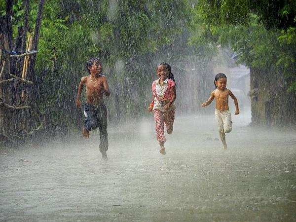 Cơn mưa rào - Mưa nước lên (nguồn: Vnphoto.net)