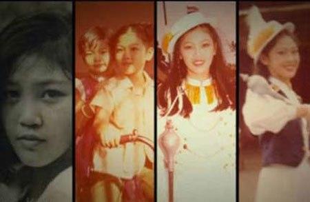 Những hình ảnh thời niên thiếu của tân thủ tướng Thái Lan Yingluck Shinawatra. Ảnh: The Nation
