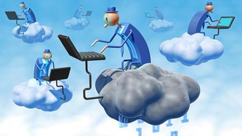 Điện toán đám mây (Ảnh: Vietbao)