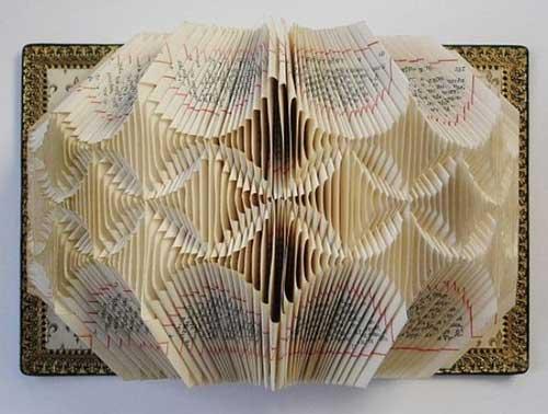 Độc đáo nghệ thuật cắt sách 3D Nhật Bản (4)