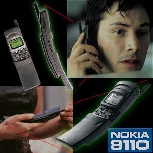 Nokia 8110 trở nên nổi tiếng khi xuất hiện trên bộ phim 'The Matrix'