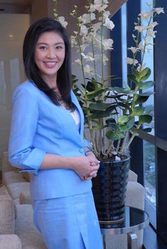 Thủ tướng được bầu của Thái Lan Yingluck Sinawatra