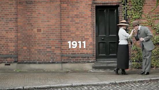 [Video] 100 năm thời trang và điệu nhảy trong 100 giây
