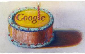 Logo Google kỷ niệm sinh nhật lần thứ 12 (năm 2010)
