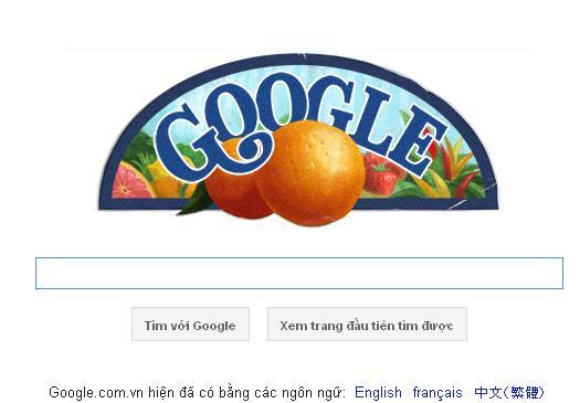 Logo Google hôm nay 16-09-2011