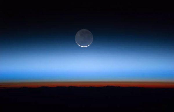 Mặt trăng từ trạm vũ trụ. Ảnh NASA | cnet.com