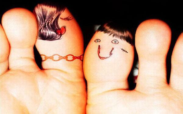 24 bức ảnh sáng tạo với... ngón tay