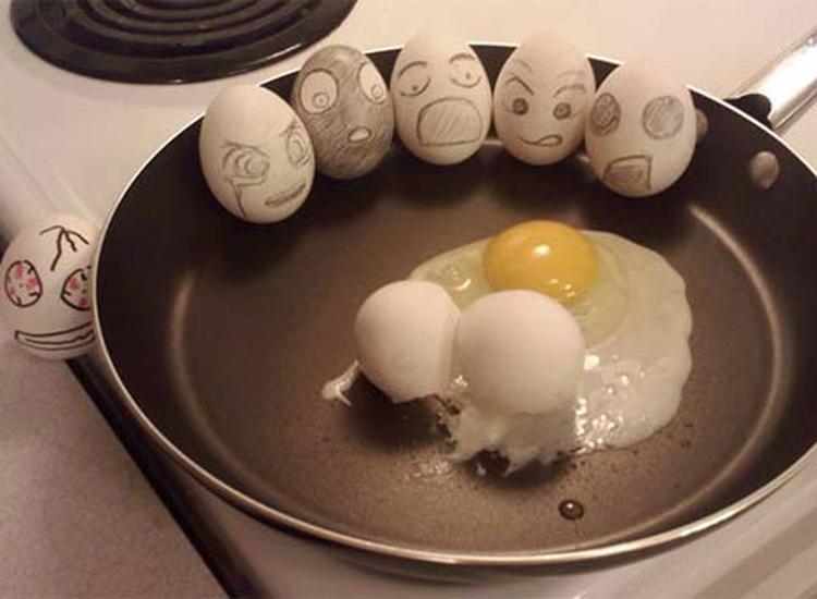 Những bức ảnh trang trí trứng vui nhộn | trung ga, trang tri trung, tac pham, sang tao, sáng tạo, ngộ nghĩnh, ngo nghinh, doc dao, độc đáo, thu vi, thú vị, anh vui trung | anh vui cuoi (12)