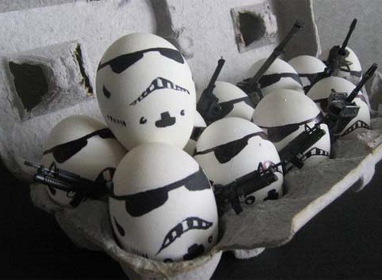 Những bức ảnh trang trí trứng vui nhộn | trung ga, trang tri trung, tac pham, sang tao, sáng tạo, ngộ nghĩnh, ngo nghinh, doc dao, độc đáo, thu vi, thú vị, anh vui trung | anh vui cuoi (4)