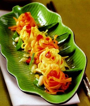 Biết cách trang trí thì Mỳ tôm cũng trở thành món ăn cực hấp dẫn, ực ực